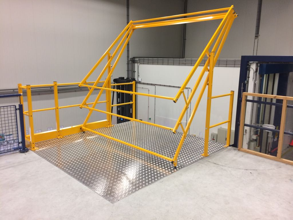 Variogate Safety Pallet Gate