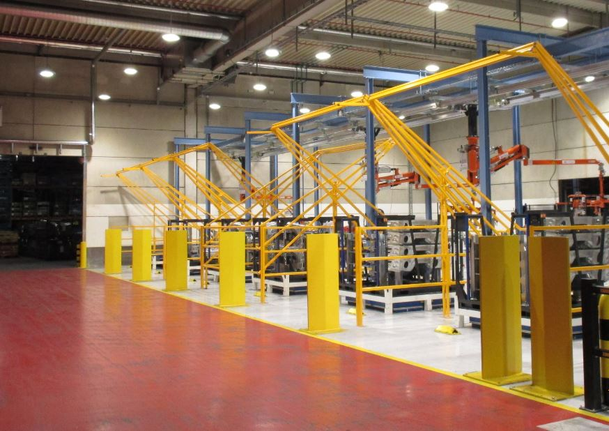 Safety Pallet Gate System Made To Size